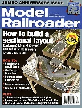 Журнал Model Railroader 2009 No 01