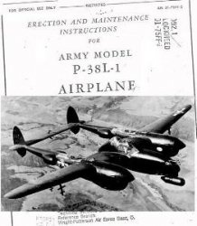 Книга Erection and maintenance Instructions for Army model P-38L-1 Airplane. Part 2