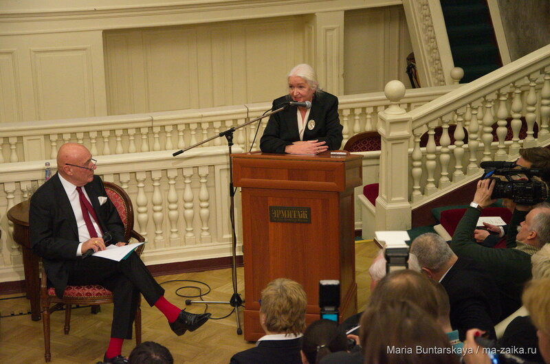 25-летие издания The Art NewsPaper, Санкт-Петербург, Эрмитаж, 15 декабря 2015 года