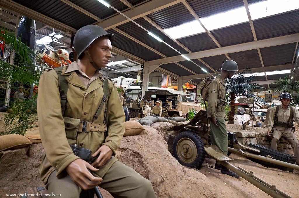 Солдат в музее техники и автомобилей Sinsheim, снятый на Nikon D5100 + Samyang 14/2.8