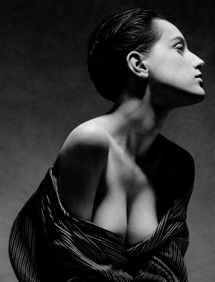 работа фотографа Альберта Уотсона / Charlotte, New York, 1988 - photo by Albert Watson