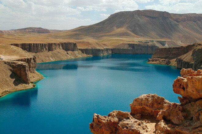 Озера Банде-Амир. Афганистан
