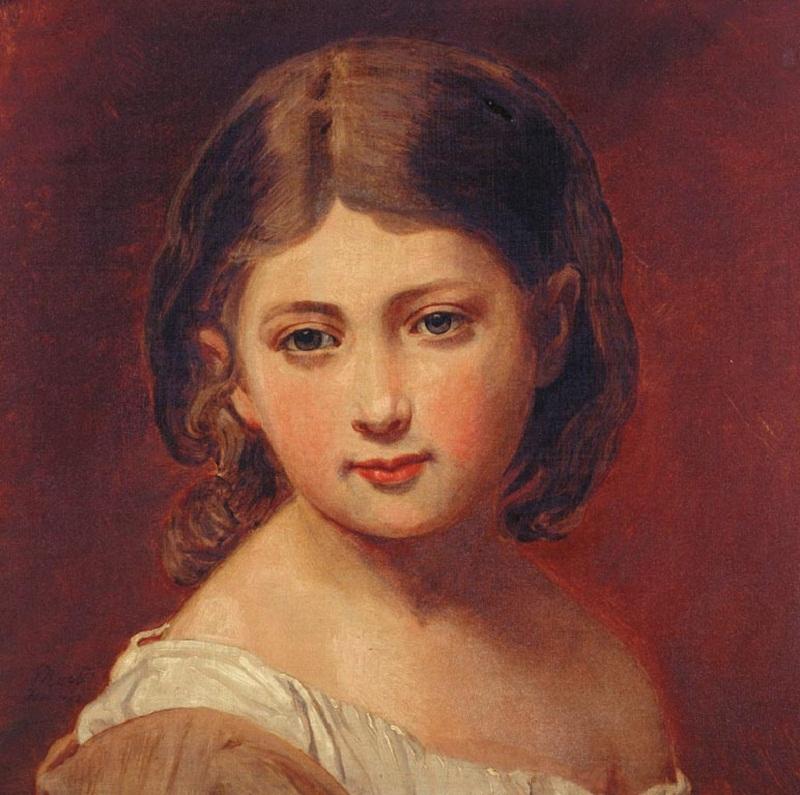 Это копия картины Германа Винтерхальтер , которая была написана королевой Викторией в подарок для принца Альберта на Рождество 1843 года