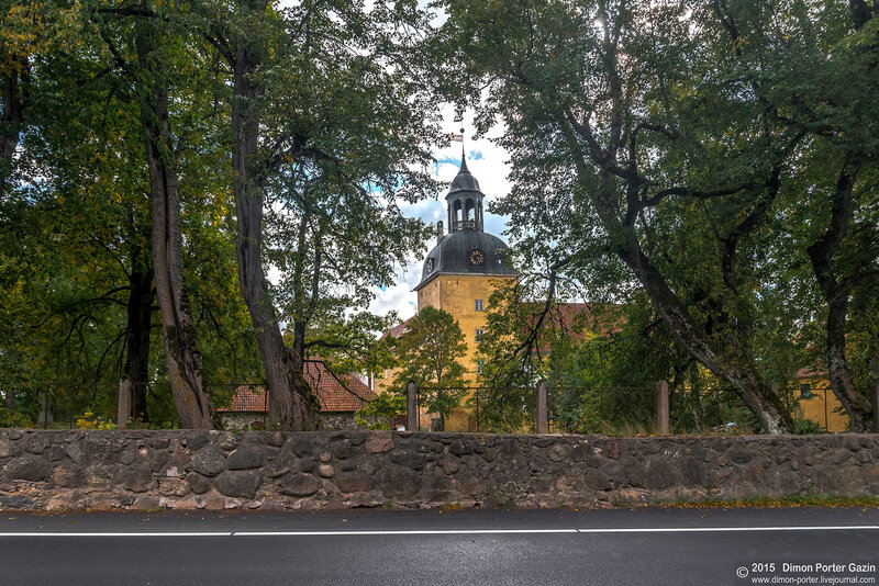 Латвия. Страупе. Лиелстрапский замок
