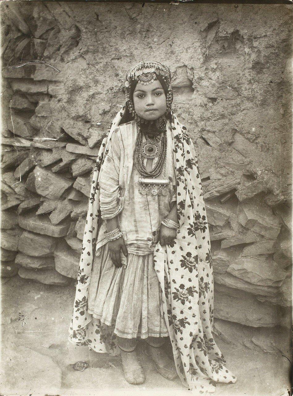 Портрет еврейской девочки