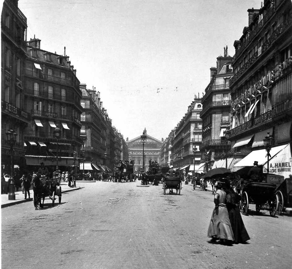 1904. Авеню Оперы