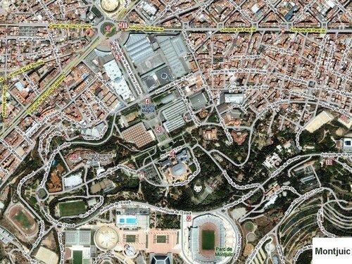Barcelona, Montjuic. Делаем путеводитель с фото.