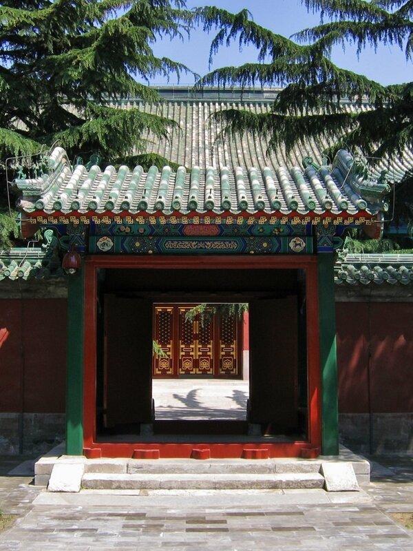 Врата, Дворец Уединения, Храм Неба, Пекин