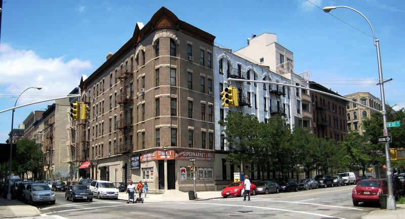 112th street, Harlem, New York City