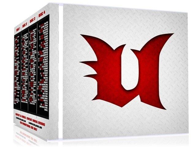 DJ Unreal - Unreal Instrumentals (4CD) (2008)
