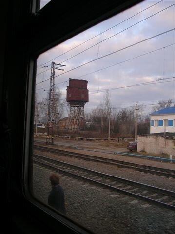 ст. Петушки. Старая водонапорная башня