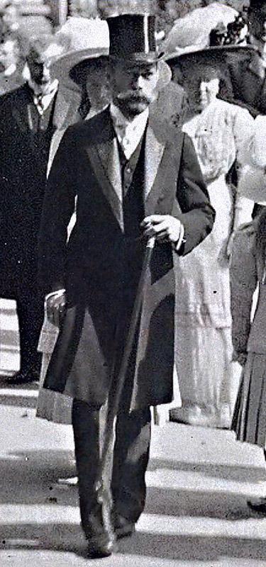 Николай II, царь, в городе Бад-Гомбург, 19 сентября 1910 года. Царь вышел из  православной Церкви Всех Святых