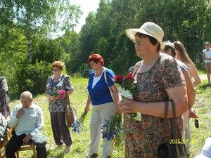 5 июля 2015 г. Открытие памятного знака в память о деревне Прусаковка, где родился и жил Герой Советского Союза Баранов Иван Егорович.