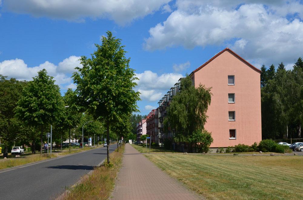 Нойштрелиц военный городок фото