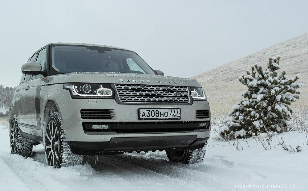 Пространство Range Rover