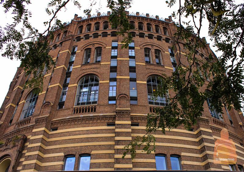 Четыре здания украшают район Вены