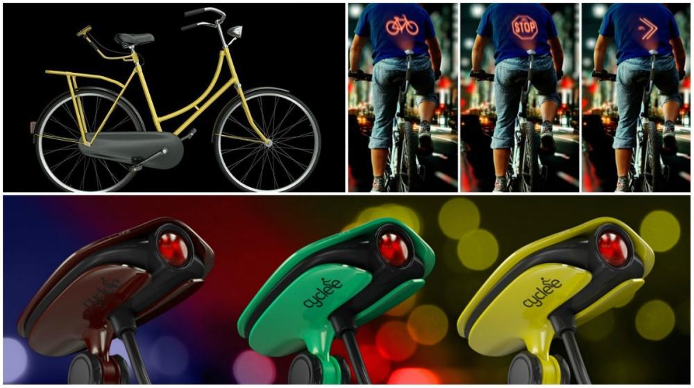 Оригинальная идея пришла вголову азербайджанскому дизайнеру Эльнуру Бабаеву. Проектор Cyclee позвол