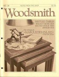 Журнал Woodsmith №28 1983