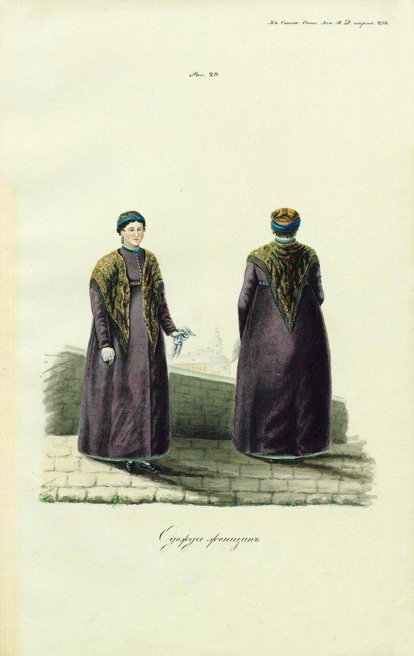 46. Одежда женщин