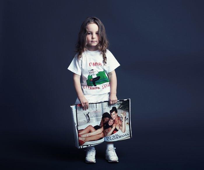 Детские прикольные футболки (45 фото) - юмор, анекдоты, фотографии, игры.