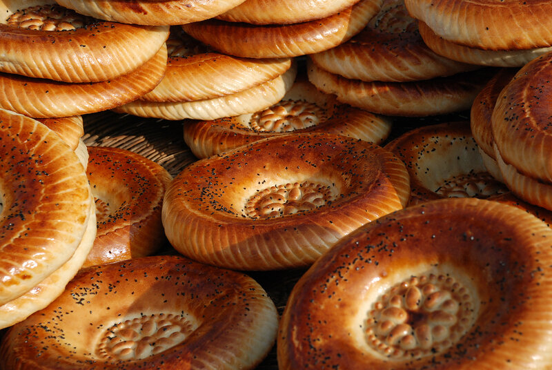 Лепешки и хлеб узбекские, рецепты