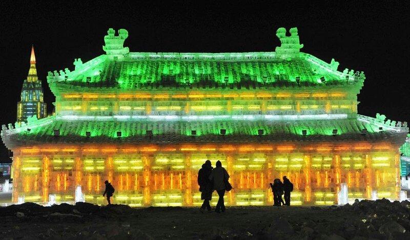 25й Международный фестиваль скульптур из снега и льда в Харбине, Китай