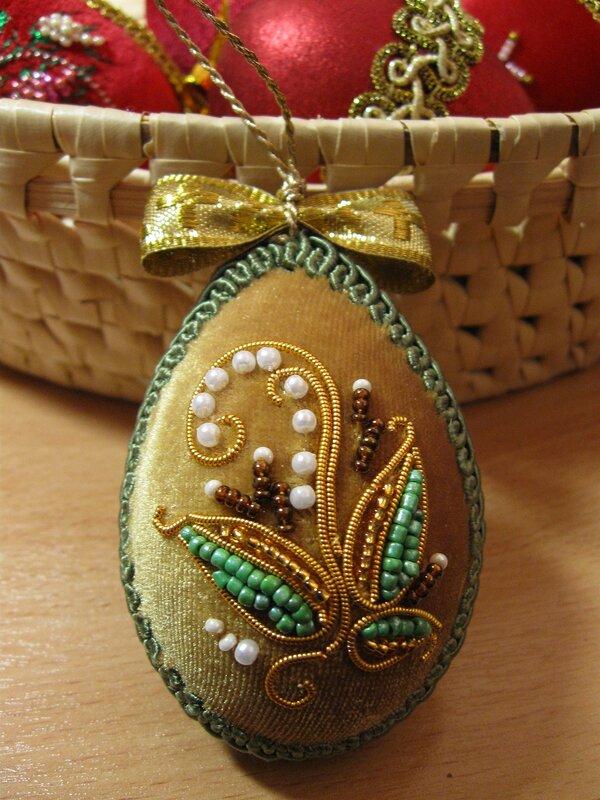 Мастер класс вышивки лентами пасхальное яйцо