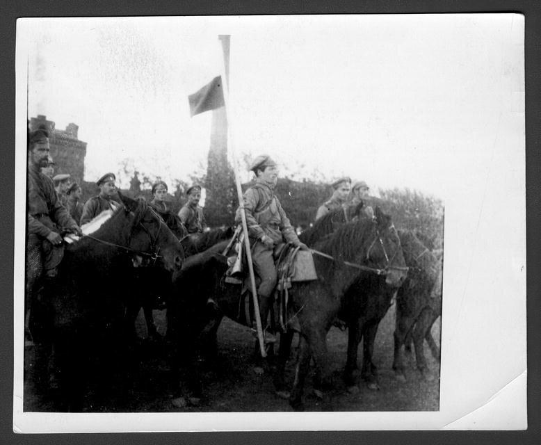 Конвой генерала А.Н. Пепеляева в Томске 22 сентября 1918 года