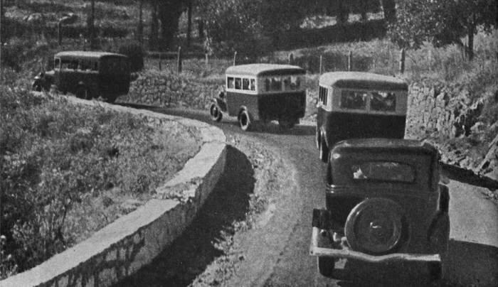 По дороге из Симферополя в Артек