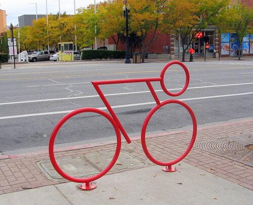 Пристанище для велосипедов