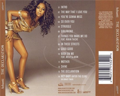 Ashanti - The Declaration - 2008