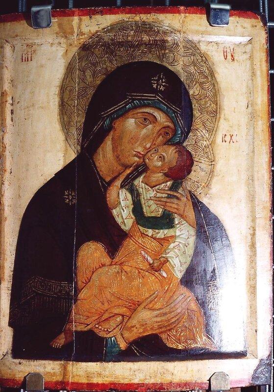 Яхромская икона Божией Матери.
