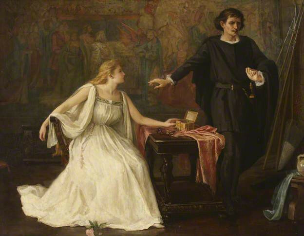 a report on the character of ophelia in the play hamlet by william shakespeare Even as a minor character in the play hamlet, the character ophelia plays a vital part in the development of both the plot and thematic ideas.