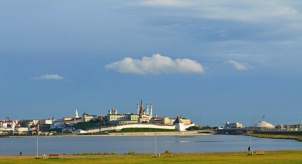 Казанский Кремль и река Казанка