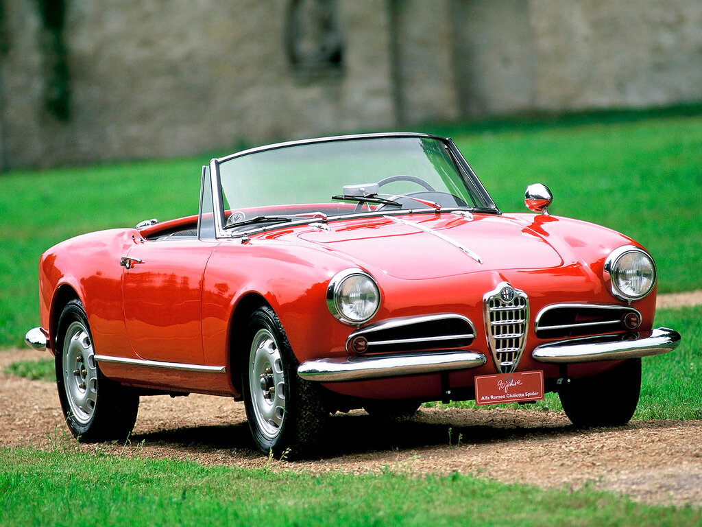 Alfa-Romeo-Giulietta-Spider-750-101-1956 1962