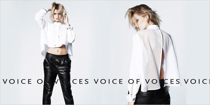 Эбби Ли Кершоу для Voice Of Voices VOV и V+eL