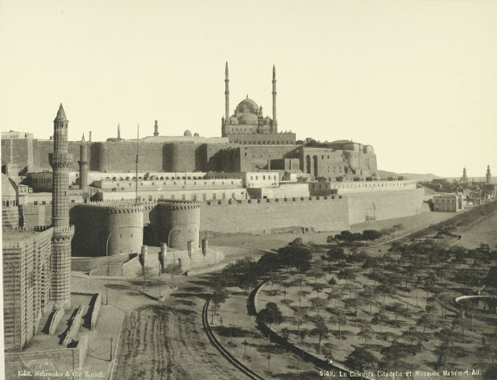 Цитадель и мечеть Мухаммеда Али.
