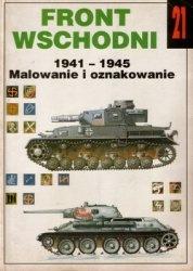 Книга Wydawnictwo Militaria 021 Front Wschodni 1941-1945 Malowanie i oznakowanie