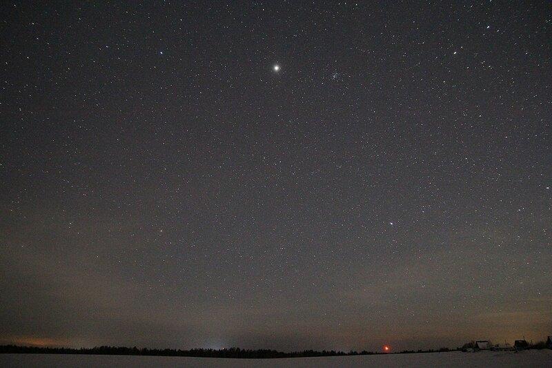 Звёздное небо - Астрономический выезд в Жданухино