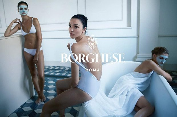 Supermodel Mariacarla Boscono is the Face of Borghese Beauty
