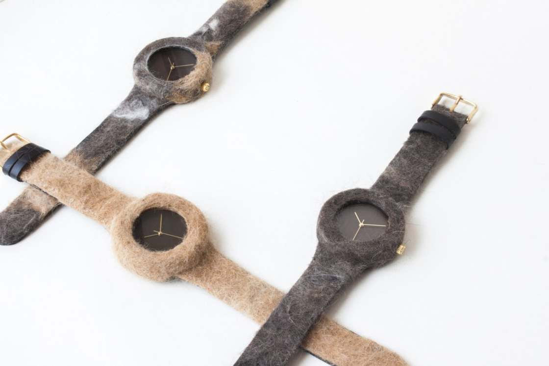 This company creates watches with the fur of your cats and dogs
