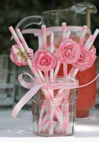 Коктейльные трубочки для праздничного стола
