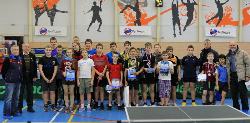 Победители среди юношей и девушек на Всероссийском турнире по настольному теннису Золотое кольцо России в Угличе