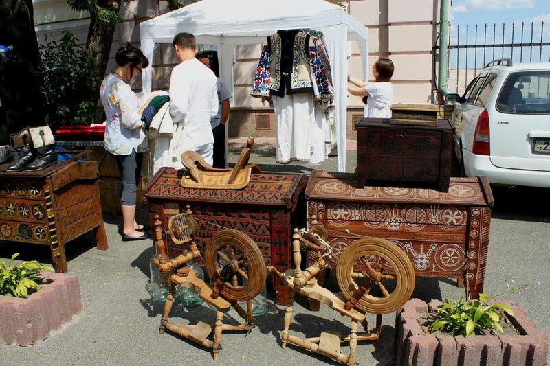 Выставка предметов украинского быта