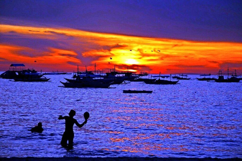 Ночь на Филиппинах