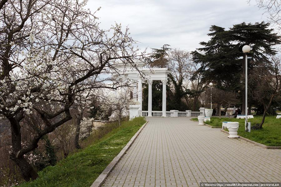 Севастополь. Сквер воинов-интернационалистов