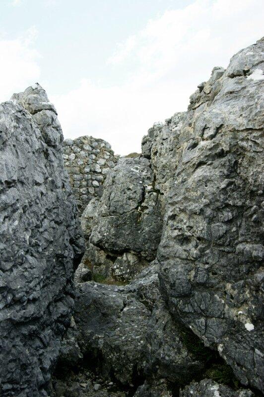 Скалы и стены
