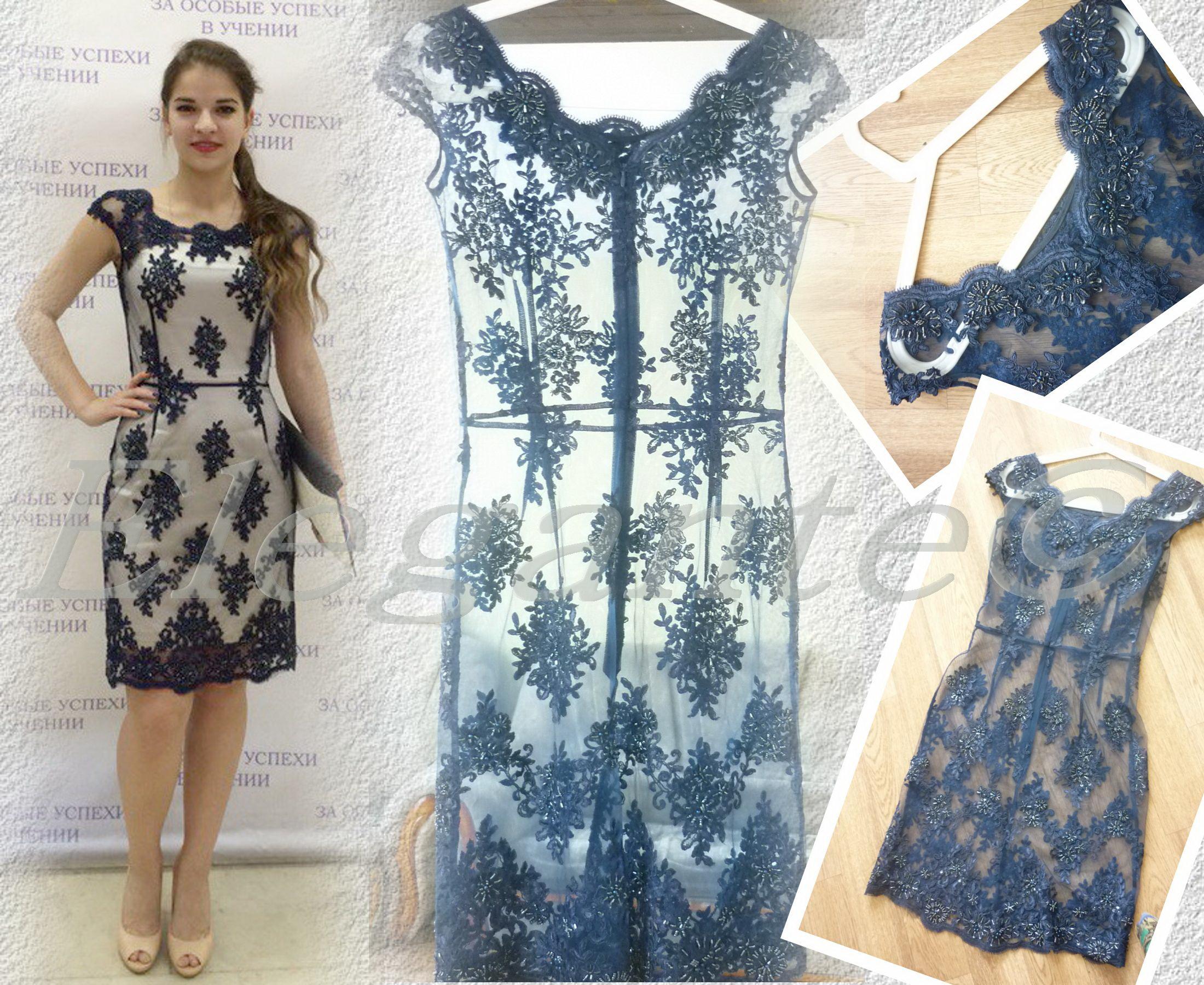 Платье-сетка: обзор актуальных моделей с фото
