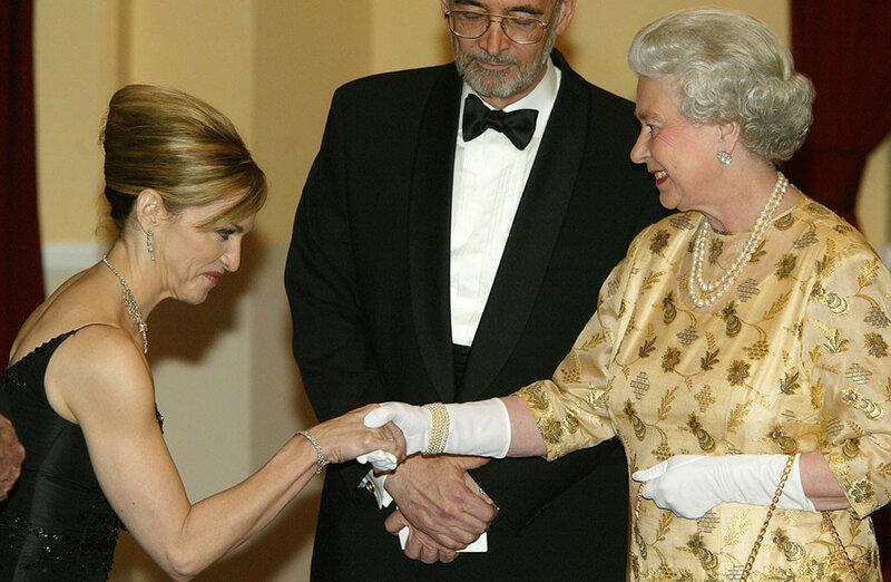 BRITAIN ROYAL8 ноября 2002 года. С Мадонной в лондонском Альберт-холле