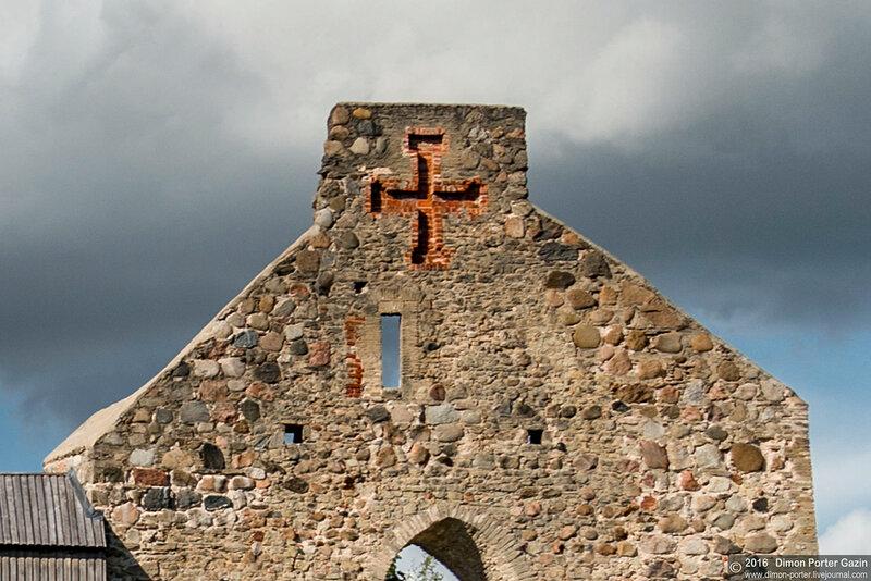 Латвия, Сигулда. Орденский Замок